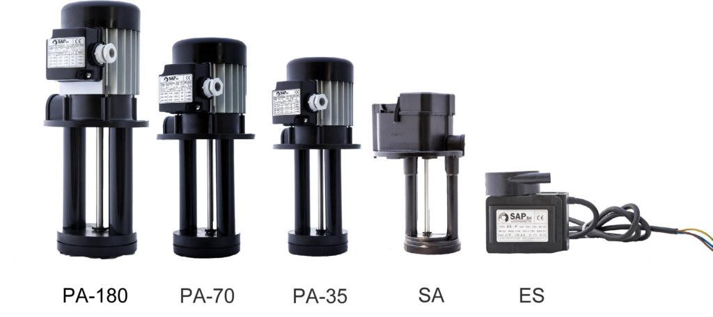 SAP coolant pumps