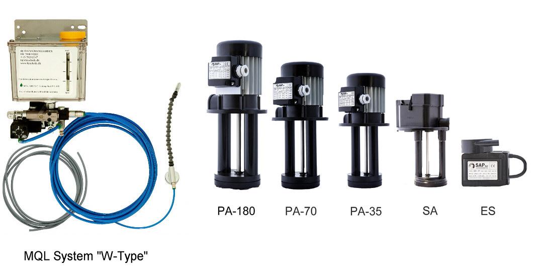 MQL-System Coolant Pump